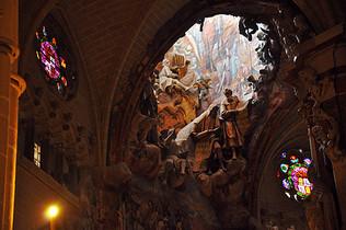 托莱多大教堂内部壁画图片