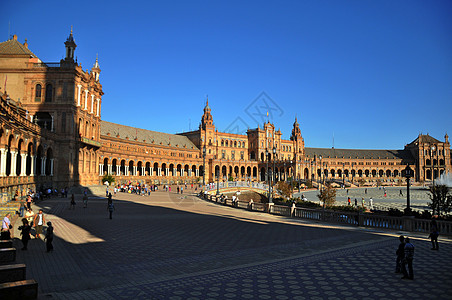 塞维利亚西班牙广场 Spain Square图片