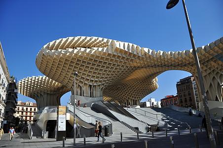 西班牙塞维利亚都市阳伞 Metropol Parasol 图片