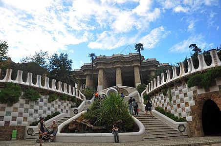 古埃尔公园Park Guell图片