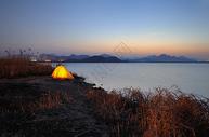 杭州南湖沿途风景图片