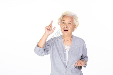 惊讶的老年人图片