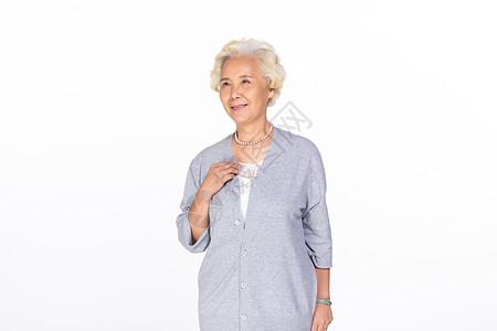 奶奶形象图片