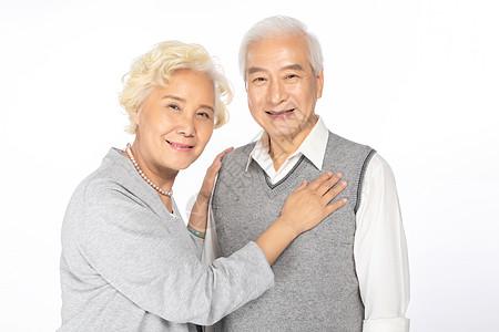 老年夫妻互相关怀图片