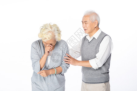 爷爷安慰奶奶图片