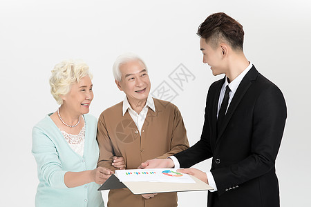 老年保险营销图片