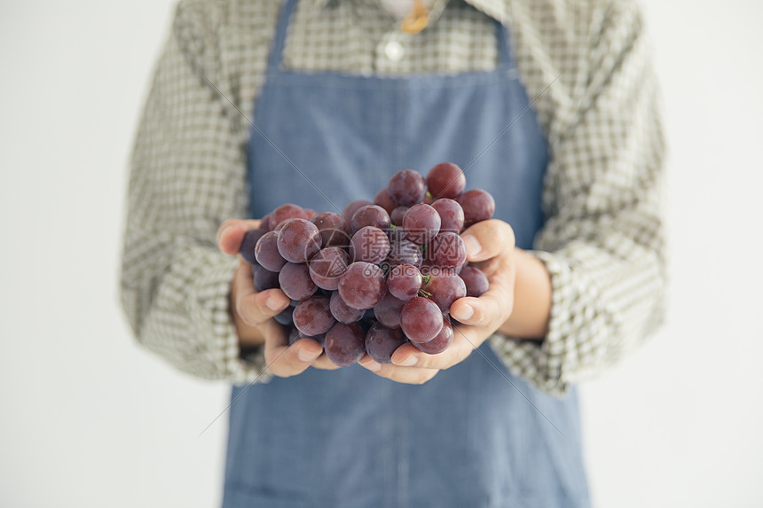 葡萄成熟丰收图片
