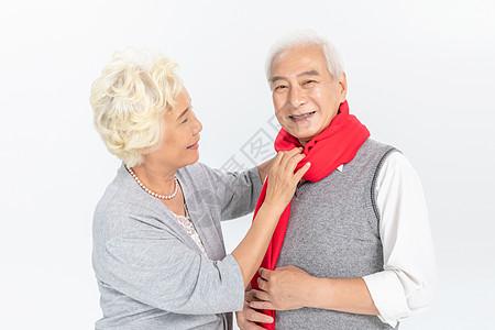 老年夫妻关爱呵护图片