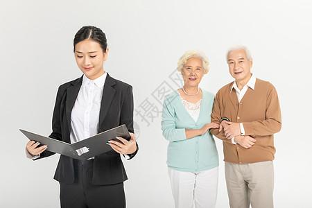 保险销售业务员形象图片
