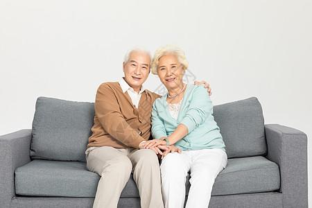 恩爱的老年夫妻图片