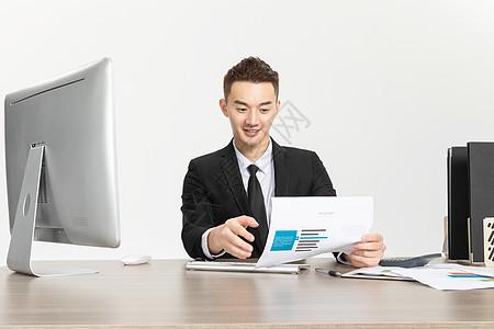 商务人士办公形象图片