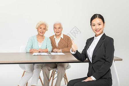 保险业务员工作形象图片