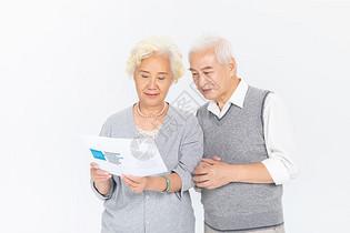 老年人选择保险图片