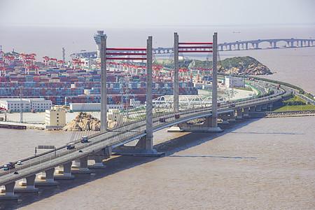 集装箱码头图片