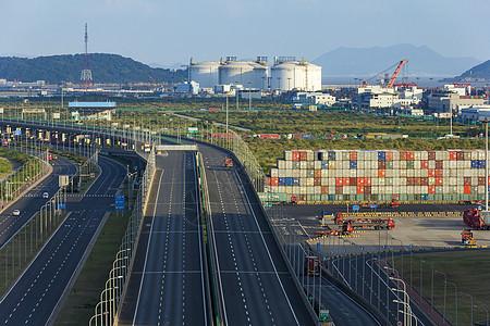 洋山深水港第二码头图片