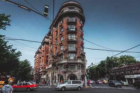 上海历史百年建筑武康楼图片