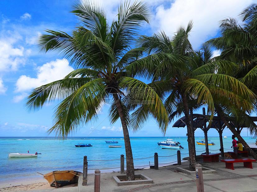 巴巴多斯美丽的海滨风光奇秀海景迷人是驰名世界的海岛度假胜地图片