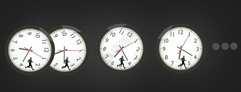 和时间赛跑图片