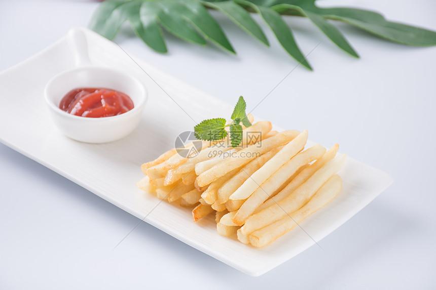 健康薯条图片