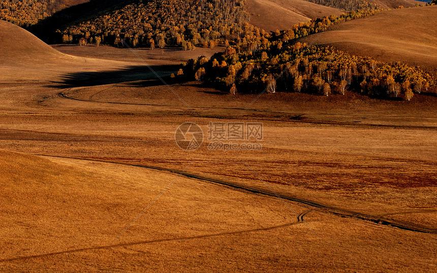 秋天的内蒙古草原图片
