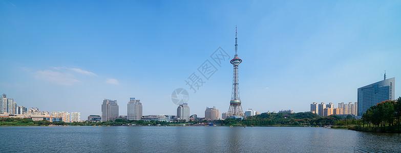 湖南株洲地标建筑电视塔长图图片