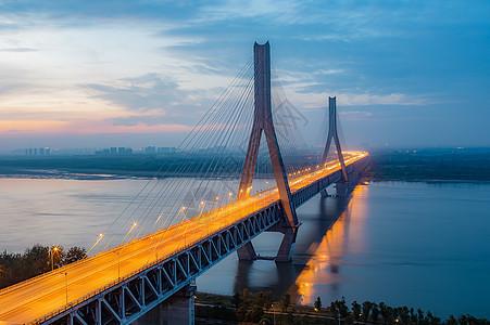 武汉天兴洲长江大桥图片