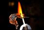 手工制作烧制水晶图片