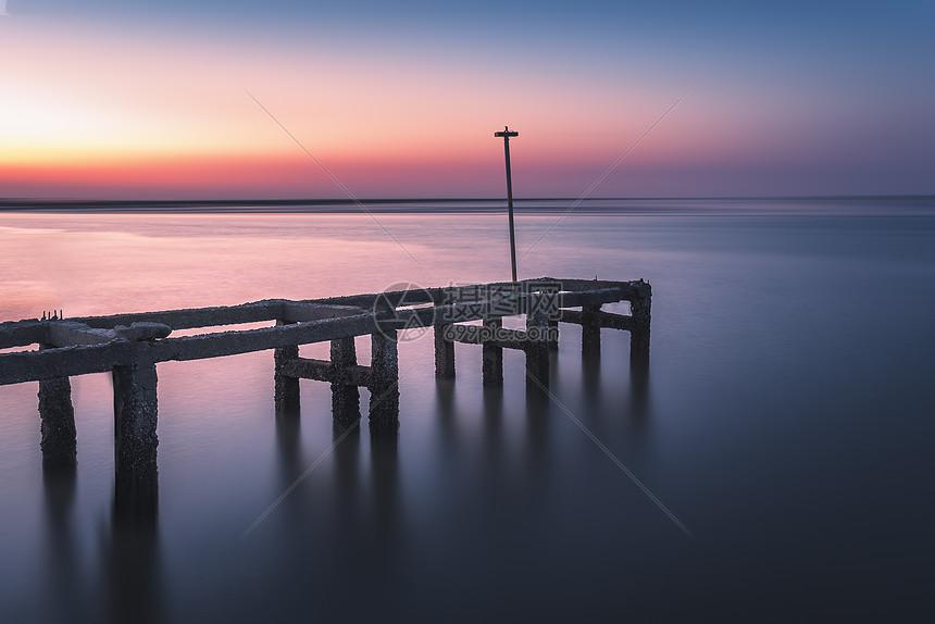 海边渔港图片