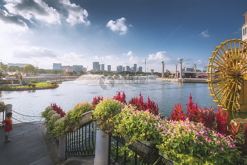 城市花园图片