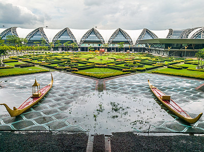 泰国曼谷素万那普机场图片