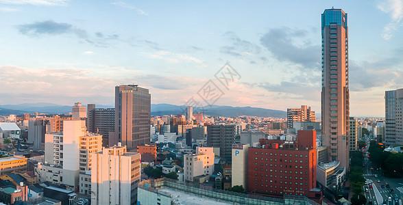 日本金泽市城市景观图片