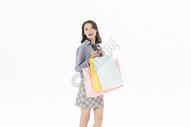 青年女性购物501070458图片
