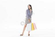 青年女性购物501070467图片