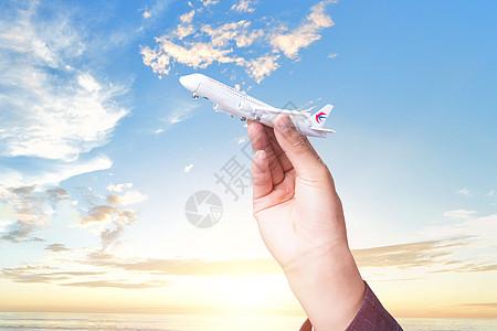 创意飞机图片