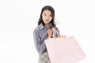 青年女性购物501071061图片
