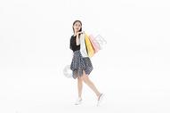 青年女性购物501071099图片