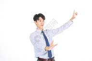 科技商务男士触摸形象501072039图片