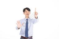 科技商务男性点击形象501072050图片