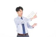 科技商务男性点击形象501072059图片