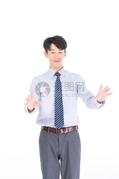 科技商务青年男性图片