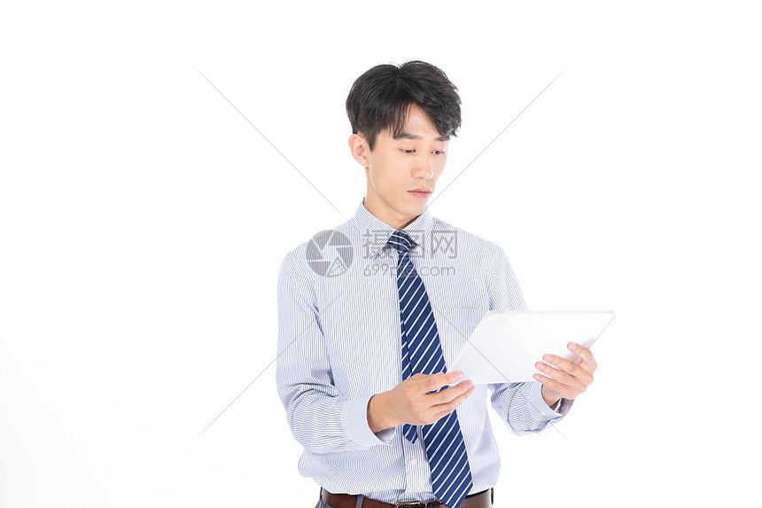 科技商务男士办公图片