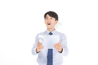 科技商务人士神态图片