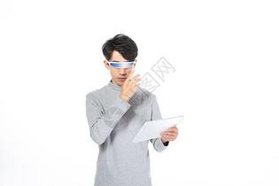 虚拟现实交互图片