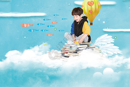 儿童梦幻奇思妙想图片