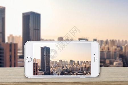 手机摄影城市图片