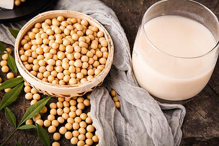 豆浆食材图片