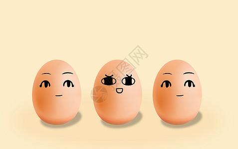 鸡蛋表情高清图片