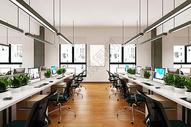 办公空间样机图片