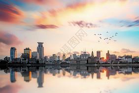 城市天际图片