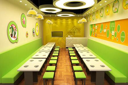 后现代餐厅店面图片